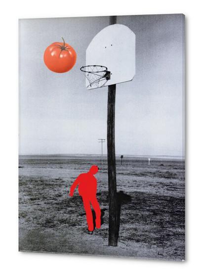 Tomato Acrylic prints by Lerson