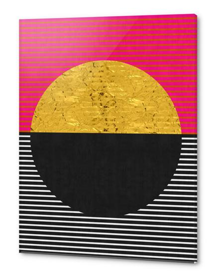 Geometric and golden art Acrylic prints by Vitor Costa