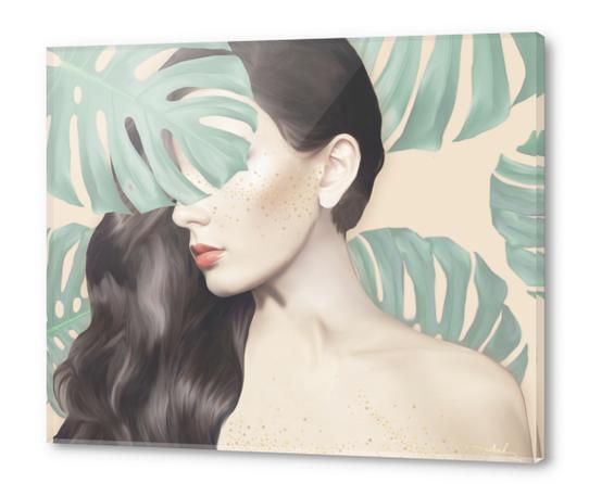 Monstera Suara Acrylic prints by Nettsch