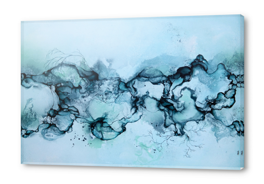Ocean Acrylic prints by darling
