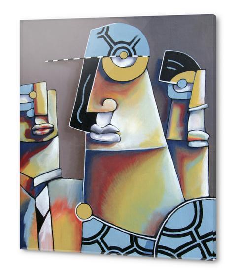 Sans Titre Acrylic prints by Manuel Martinez