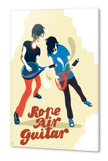 ROPE AIR GUITAR Acrylic prints by Francis le Gaucher