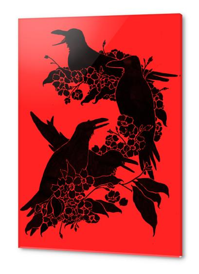 A Feast For Crows Acrylic prints by Tobias Fonseca