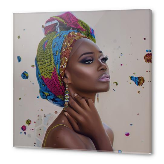 Queen Acrylic prints by AndyKArt