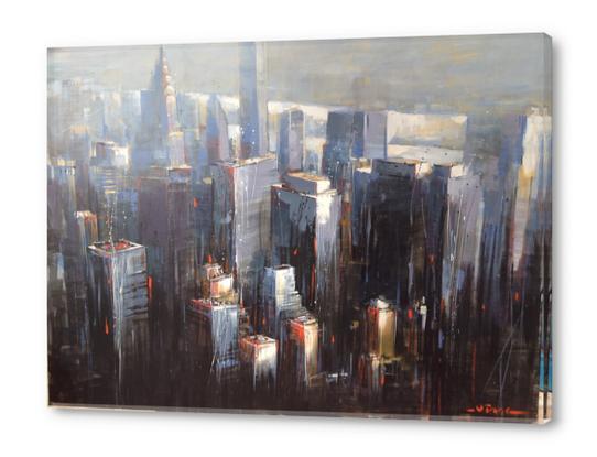 Awakening City Acrylic prints by Vantame
