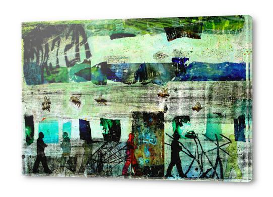 BEAUTIFUL WORLD Acrylic prints by db Waterman