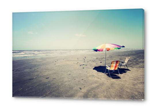 Beach Day Acrylic prints by Trish Mistric