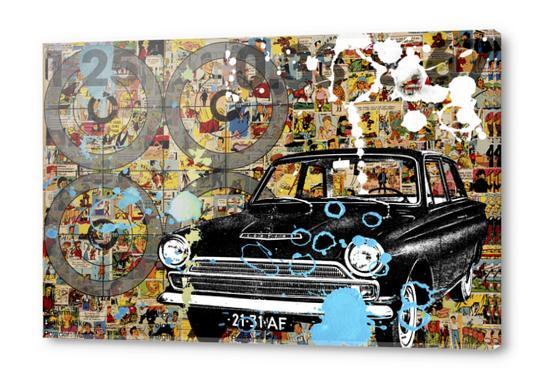 COMICS Acrylic prints by db Waterman