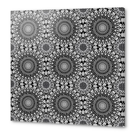 Calligraphy (Black&White) Acrylic prints by vannina