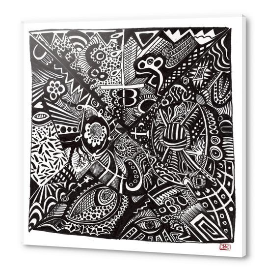 Mandala personnel Acrylic prints by Denis Chobelet