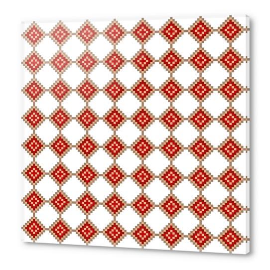 Pixelated Christmas Acrylic prints by PIEL Design