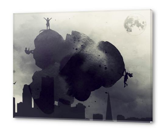 Cloudwatchers Acrylic prints by inkycubans