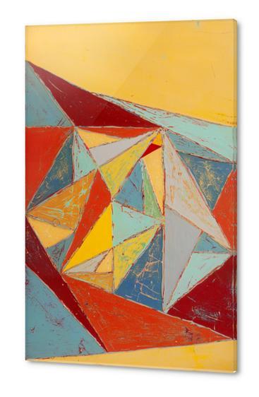 Cristallisation Acrylic prints by Pierre-Michael Faure