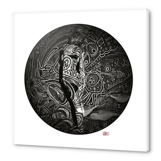Lina #9 Acrylic prints by Denis Chobelet