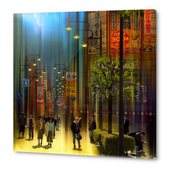 Déambulation - Osaka- Japan #0740 Acrylic prints by Denis Chobelet