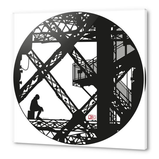Eiffel tower #4 Acrylic prints by Denis Chobelet