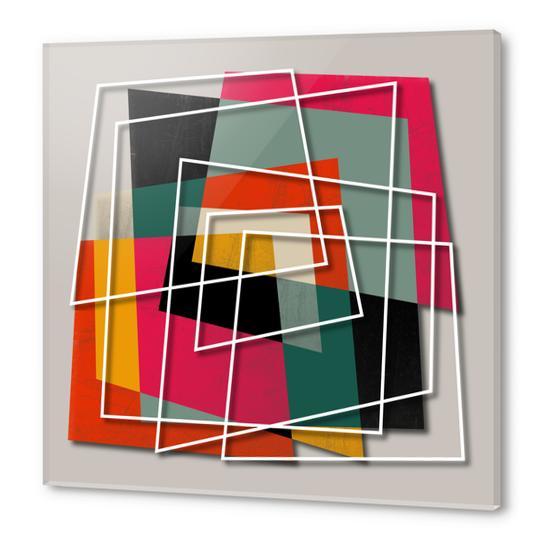 Fill & Stroke III Acrylic prints by Susana Paz
