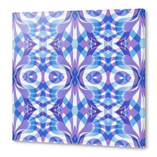 Floral Geometric Abstract G288 Acrylic prints by MedusArt