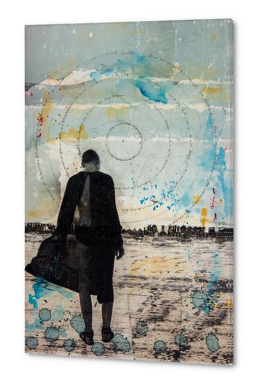 GIRL WANDERING Acrylic prints by db Waterman