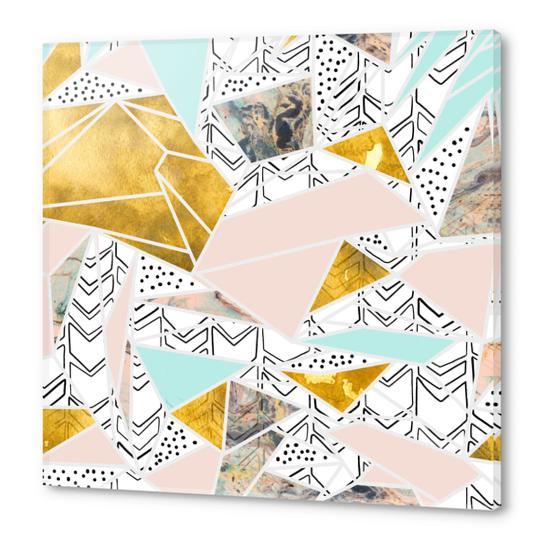 Geometric and textures Acrylic prints by mmartabc