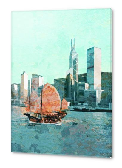 Hong Kong  Acrylic prints by Malixx