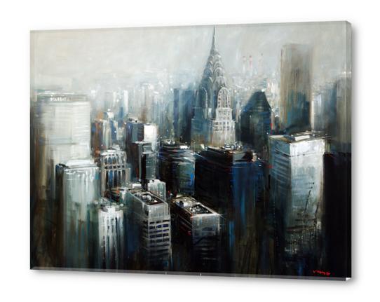 Bring me down Acrylic prints by Vantame