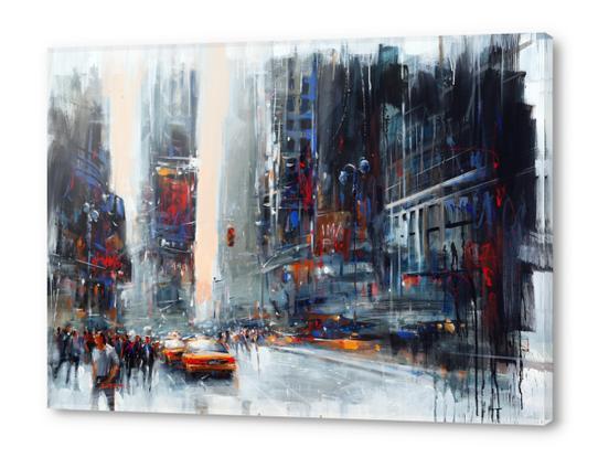 Glittering crowds Acrylic prints by Vantame