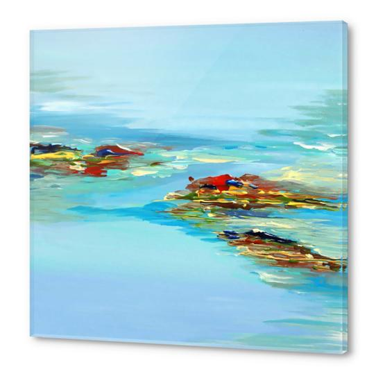 Coastal Scene Acrylic prints by Irena Orlov