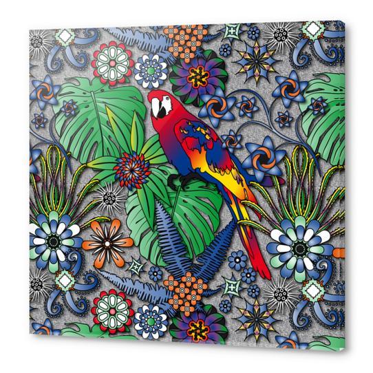 Jungle Flowers Acrylic prints by vannina