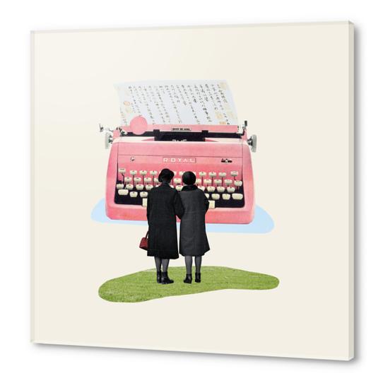 Typewriter Acrylic prints by Oleg Borodin