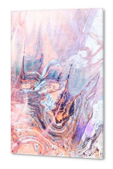 Multicolored saturated marble Acrylic prints by mmartabc