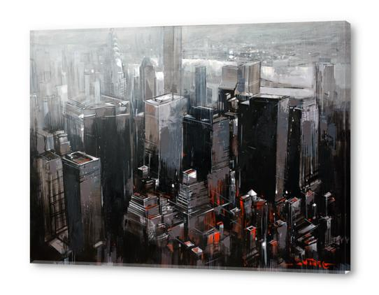 NEW YORK Acrylic prints by Vantame