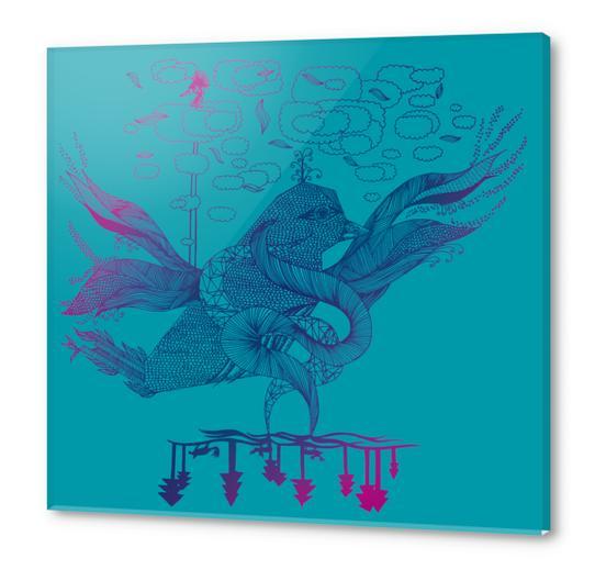 la Acrylic prints by Laurene