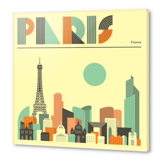 PARIS Acrylic prints by Jazzberry Blue
