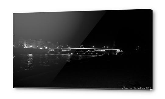 Pont de Paris Acrylic prints by Stefan D