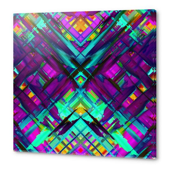Colorful digital art splashing G472 Acrylic prints by MedusArt