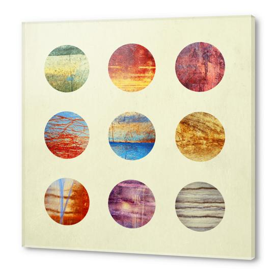 Planets Acrylic prints by Elisabeth Fredriksson