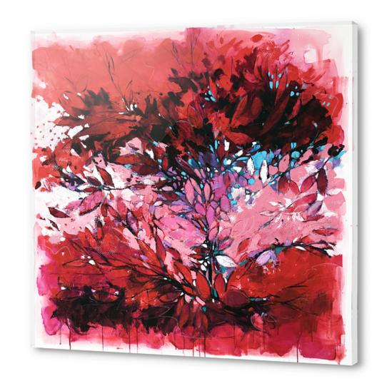 Purple maze Acrylic prints by andreuccettiart