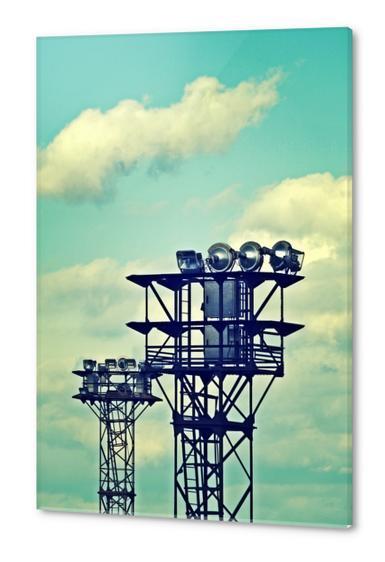 Sky and spot Acrylic prints by Stefan D