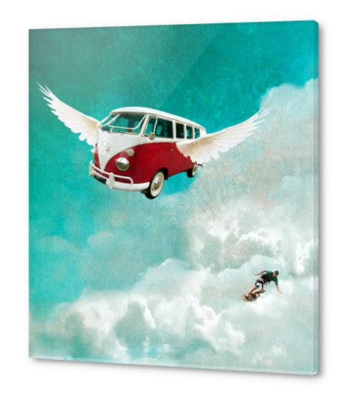Sky-surf Acrylic prints by tzigone