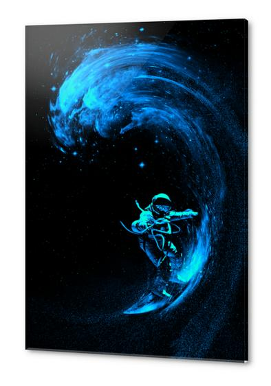 Space Surfing Acrylic prints by Nicebleed