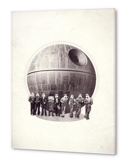 Death Star Acrylic prints by Oleg Borodin