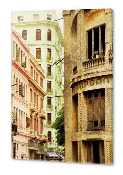 Street In Cuba Acrylic prints by fauremypics