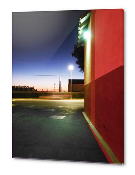 Sunset in L.A. Acrylic prints by Vic Storia
