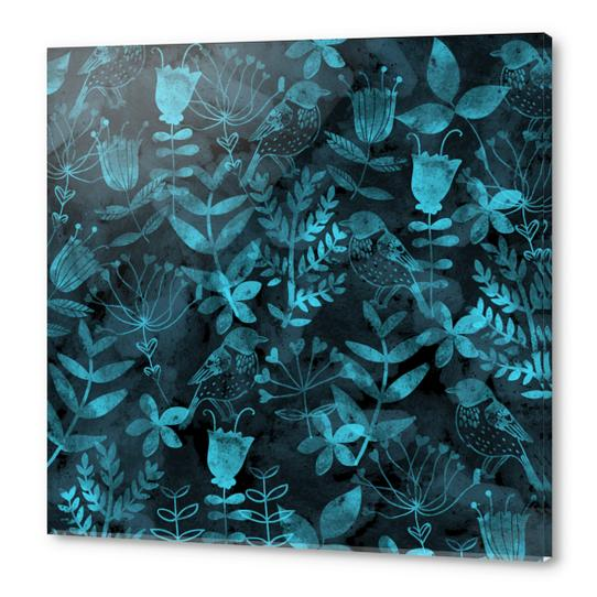 Abstract Botanical Garden  Acrylic prints by Amir Faysal
