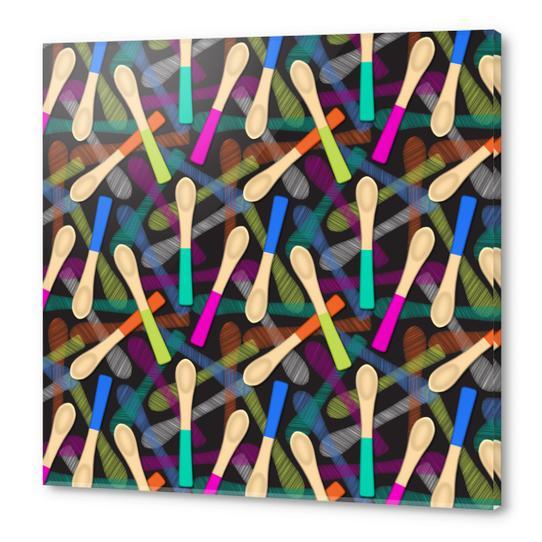 Wood Spoons Acrylic prints by vannina