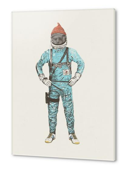 Zissou In Space Acrylic prints by Florent Bodart - Speakerine