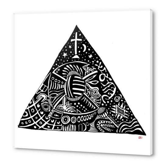 3 sommets #1 Acrylic prints by Denis Chobelet