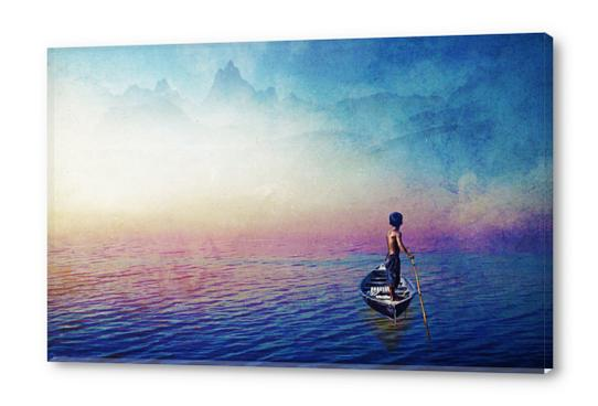 Somewhere Acrylic prints by Seamless