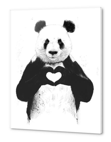 All you need is love Acrylic prints by Balazs Solti